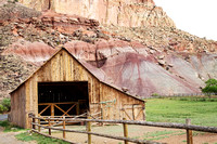 Historic Barn, part of an old Mormon SettlementCapitol Reef National ParkUtah